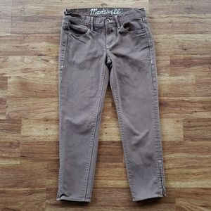 Madewell Brown Size 27 Cropped Jeans